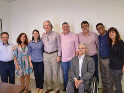 Encontro com o Reitor da Universidade Federal de Uberlândia e sua equipe